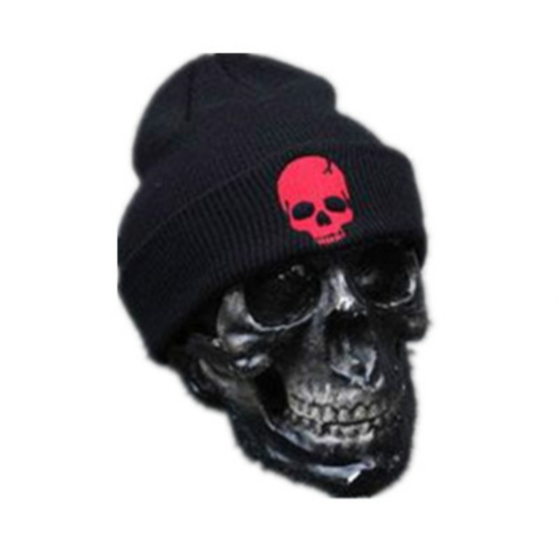 winter beanie hat for men hip hop winter hat skull printing women men's knitted hat knit beanies Skullies black cap warm hats [jamont] love skullies women bandanas hip hop slouch beanie hats soft stretch beanies q3353