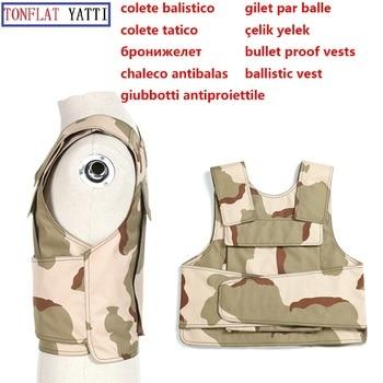 Soft Aramid Fiber Army Bullet Proof Vest Nij Iiia Ballistic Tactical Plate Carrier Police Swat Self-defense Real Military Vest ringstone серебряные серьги top ringstone