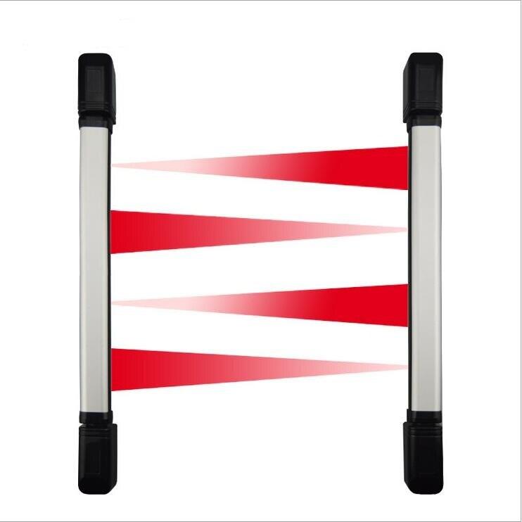 Wired 2 Raggi IR A Raggi Infrarossi Barriera Rivelatore di 10 M Per La Casa Yard Finestra Cancello Porta Sistema di Allarme GSM PSTN sistema di Allarme sistema/cancello fotocellula