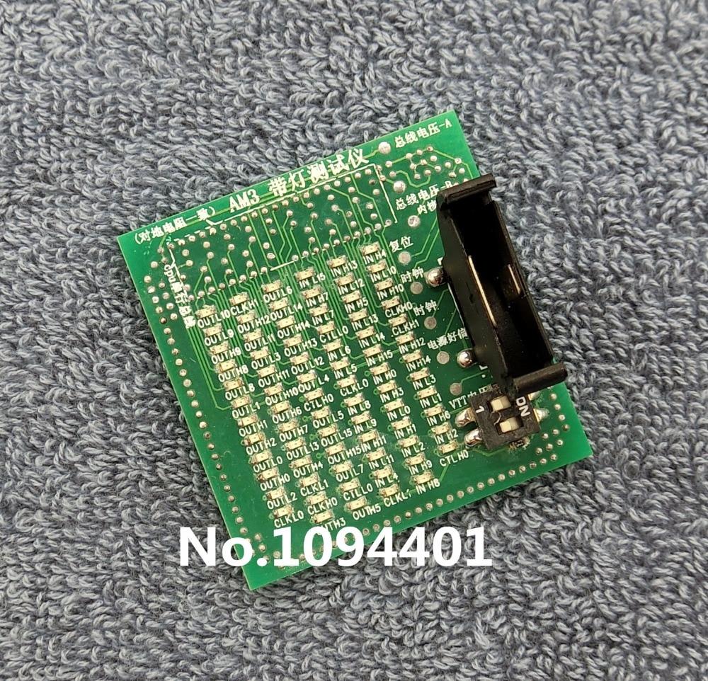 1pcs*  Brand New  Desktop CPU AM3 Socket Tester CPU Socket Analyzer Dummy Load Fake Load with LED amd am3 cpu dummy load socket tester with led for desktop motherboard