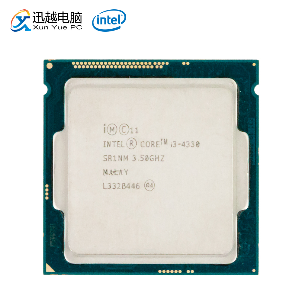 Intel Core I3-4330 Desktop Processor I3 4330 Dual-Core 3.5GHz 4MB L3 Cache LGA 1150 Server Used CPU