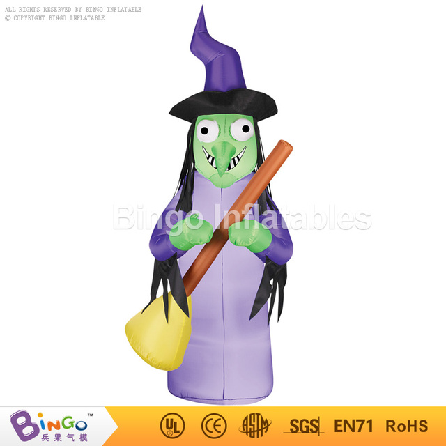 inflatable halloween Female Witch cartoon 2.5M high halloween decoration toy