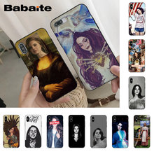 Babaite Sexy singer model Lana Del Rey Telefoon Case voor iPhone 8 7 6 6S Plus X XS MAX 5 5S SE XR 10 Cover Capa11 11pro 11promax(China)