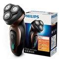 Philips yq6188/16 barbeador elétrico com bateria eficiente vida recarregável independente triplo cabeça da lâmina rosto barba navalha para mim