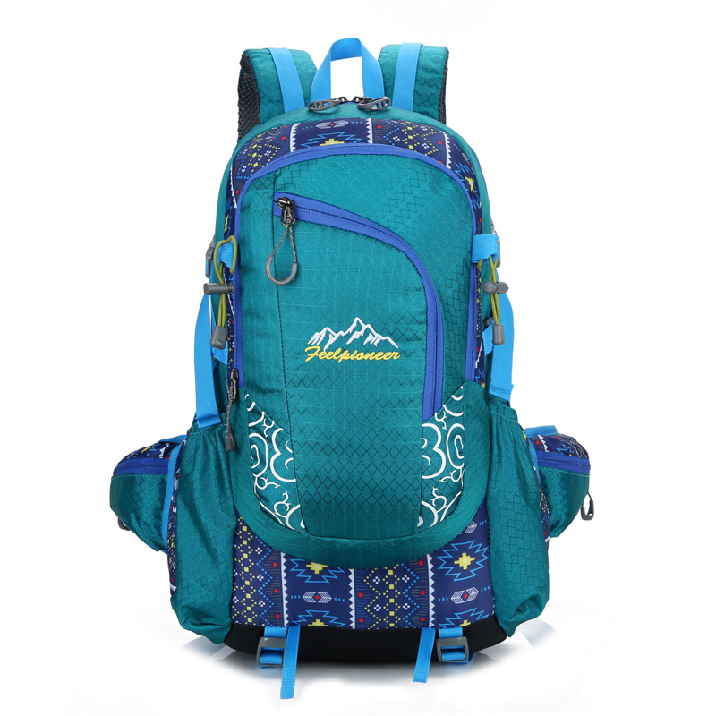 40L Waterproof Nylon Backpack Men Women Sport School Back Bags Camping Hiking Pack Ski backpack rock climbing backpack 40l waterproof nylon women