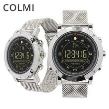 Получить скидку Colmi флагманский Повседневное Спорт Смарт часы 33-месяц в режиме ожидания 24 h мониторинг всепогодный SmartWatch для IOS и Android