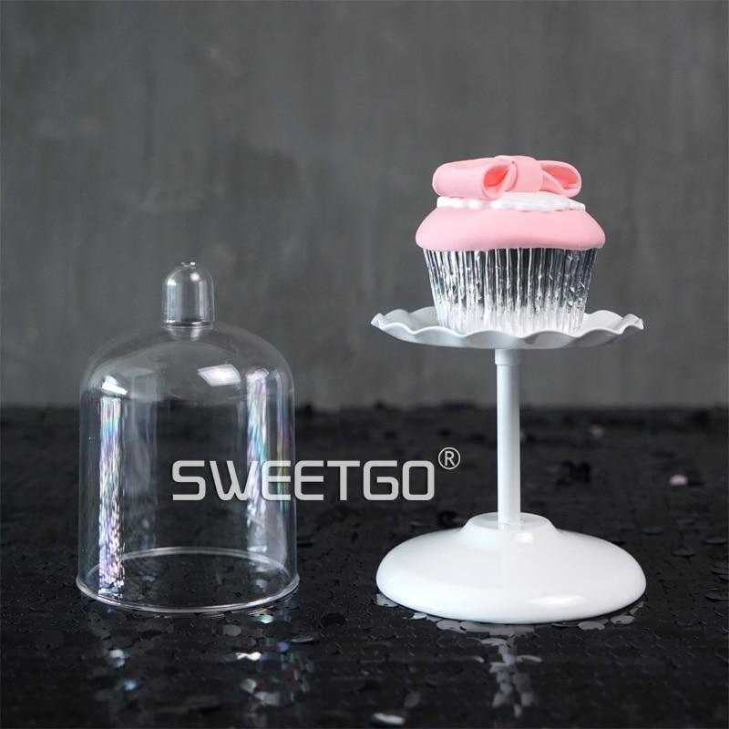 SWEETGO Esküvői csésze sütemény állvány fehér fém állni - Konyha, étkező és bár - Fénykép 3