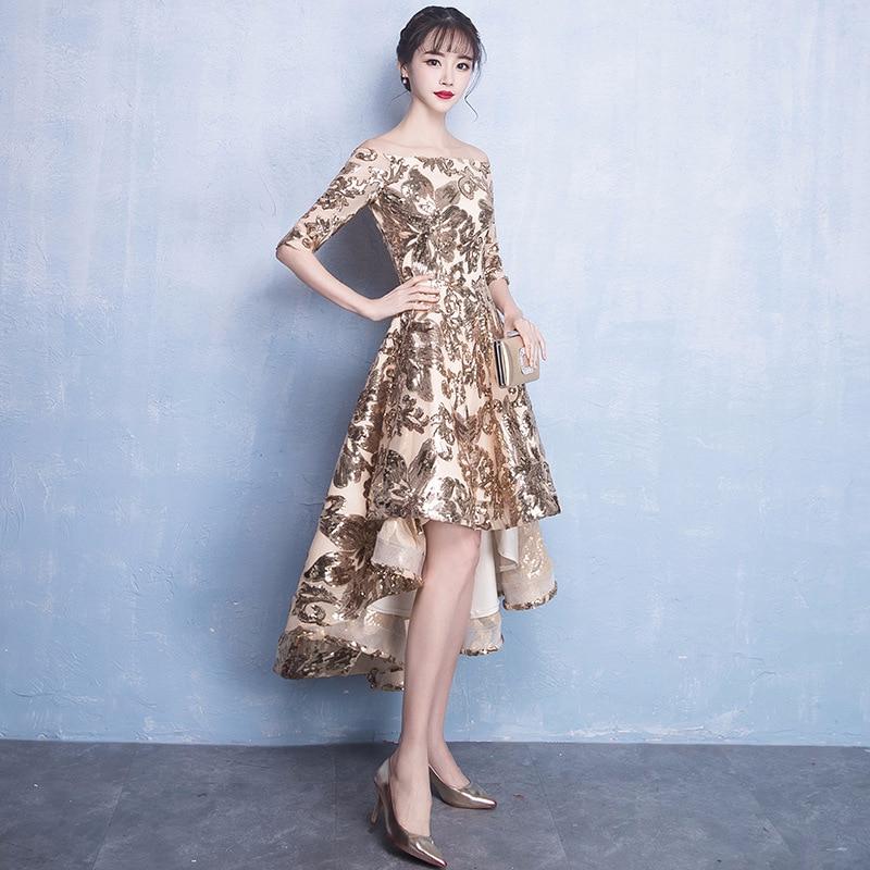 Or Chic Dos Longue Encolure Plus Paillettes 2 Femmes 1 La 3xl Robes Robe Mode Rétro Brillant Pour s Sexy Taille Parti Nu dxOfqWPw8
