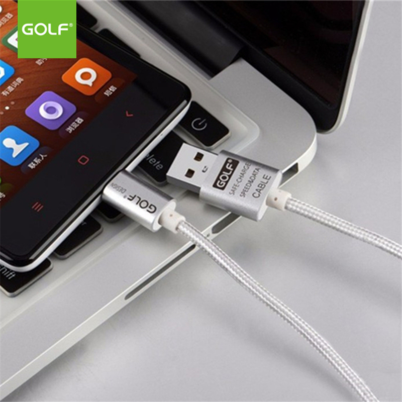 GOLF 3m Metal Braided Micro USB Charging Data Sync Cable For Huawei Mate 8 Honor 6 LG G3 Redmi 6 Note5 Android USB Charger Cable in Mobile Phone Cables from Cellphones Telecommunications