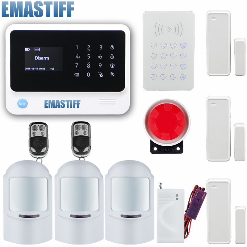 New Product WiFi Alarm System Door gap sensor Internet GSM Alarm System Home Alarm Security wireless ip camera Detector Sensor wireless smoke fire detector for wireless for touch keypad panel wifi gsm home security burglar voice alarm system
