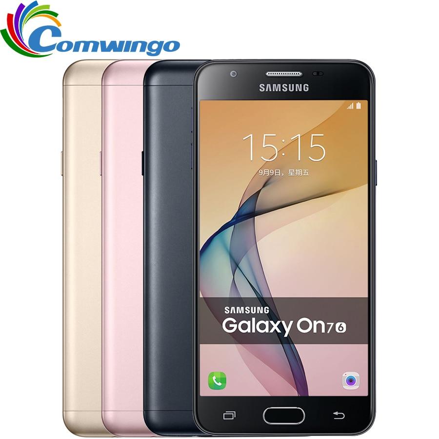 Samsung Galaxy On7(2016) G6100 Cell Phone 3300mAh 3G RAM 32G ROM Octa Core 5.5''13MP 1920x1080 Dual SIM 4G LTE Mobile phone