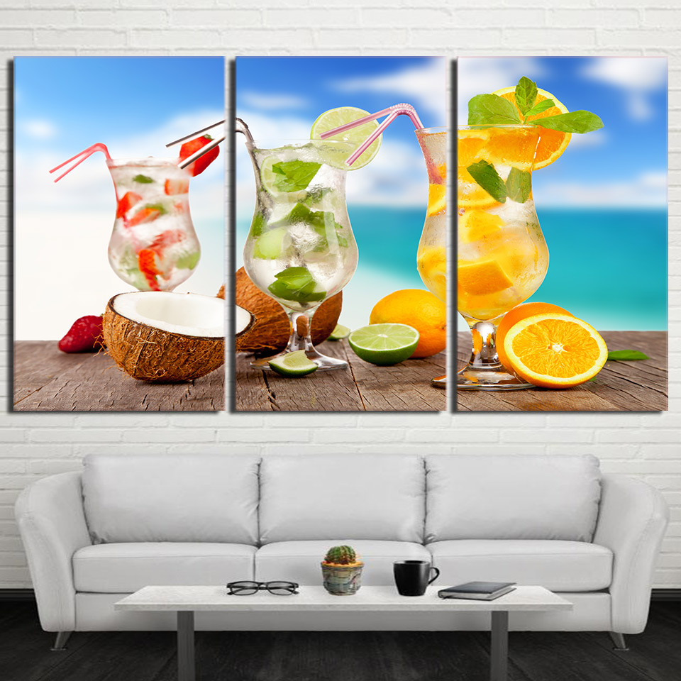 Canvas Pictures Wall Art Kitchen Decor Living Room Prints