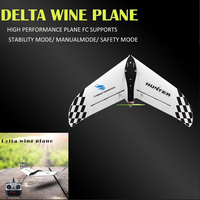 Creative Outside Sky Electric RC Fixed Delta Wing Aircraft 2.4G 500M EPP Material Fall Resistance Remote Control Glider Model