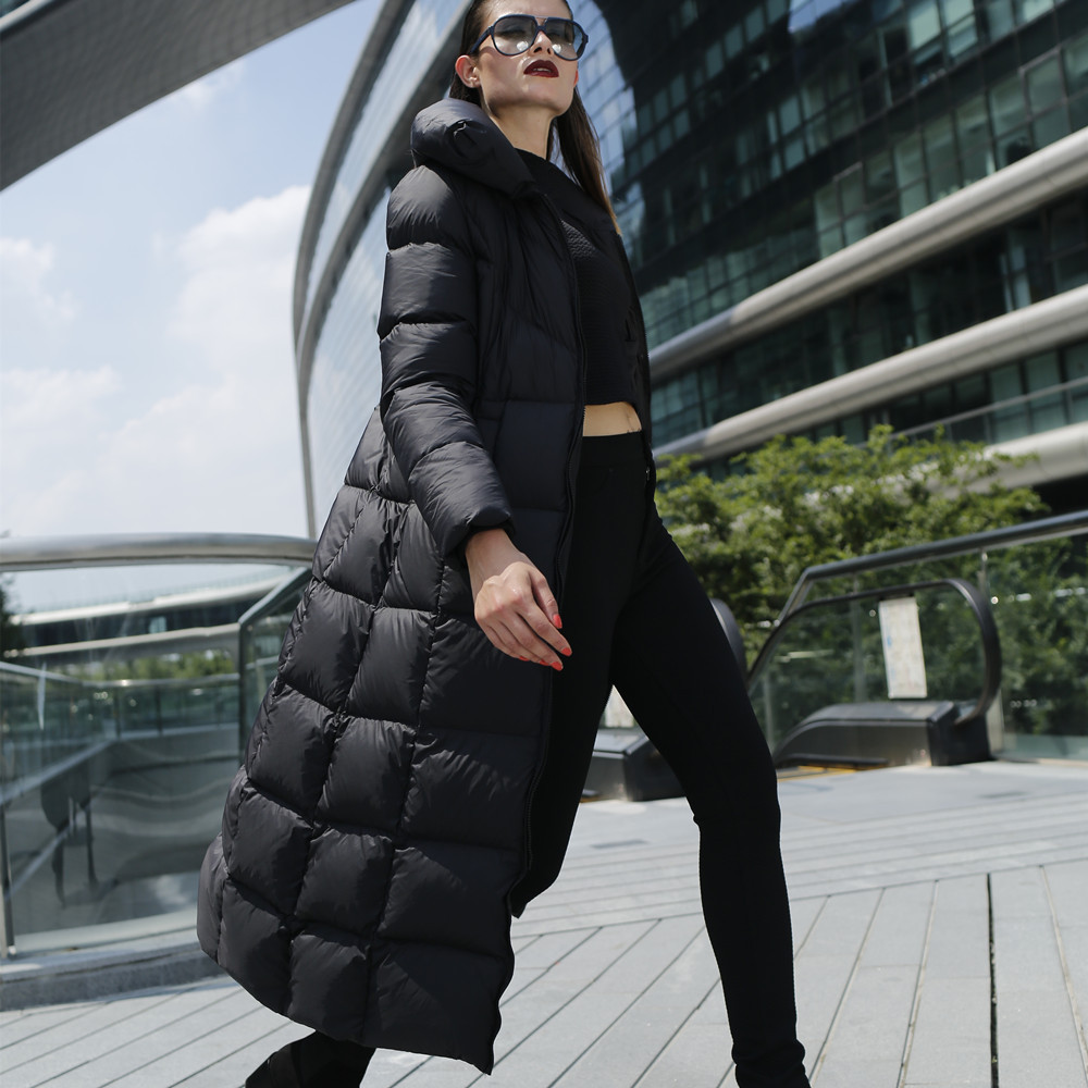 Aliexpress.com : Buy Women X long down coat Plus size Winter thick ...
