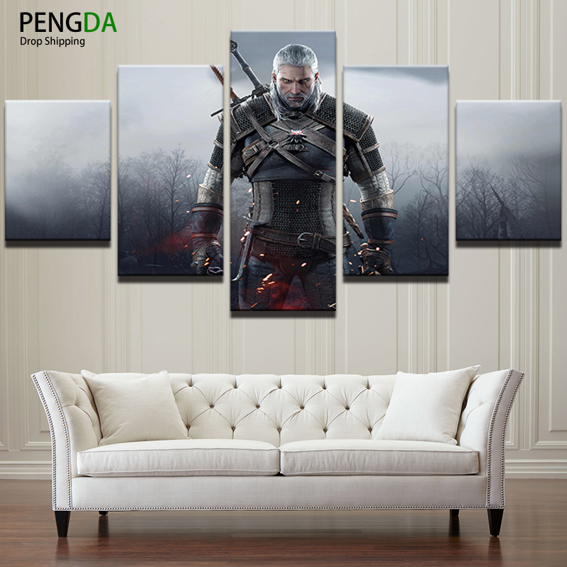 Modern Wall Art Painting Print Picture Frame Living Room Home Decor ...
