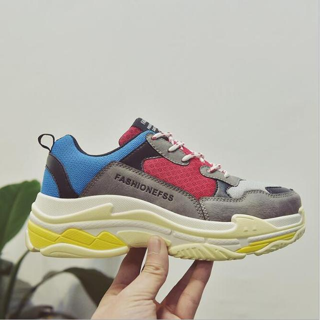 18c6fe3047c6 High Quality Walking Shoes 2018 New Sports Shoes INS Hottest Shoes Comfort  Breathable Shoes Large Size Women s Sneakers WK06