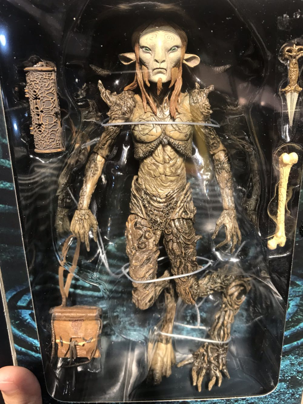 Neca Pans Labyrinth The Faun 8 Inch 1:12 Scale Collection Model Pvc Action Figure El Laberinto Del Fauno Doll Toys Action & Toy Figures