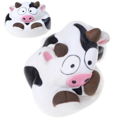 Kawaii sandía expresión tarjeta Panda cara teléfono móvil soporte Donut mano almohada pan aroma lento aumento gato Animal tostada