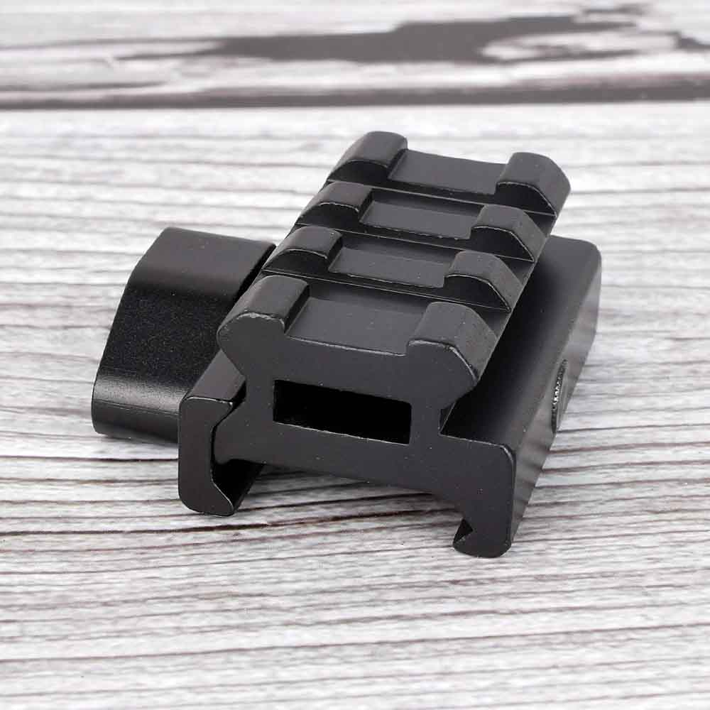 1PC 3 Slot Small 0.5 1 Inch Scope Rail Mount High Profile Riser Mount With Scope Mount Extend 20mm Dovetail Extend Rise Mount