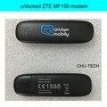 10pcs/lot  unlocked ZTE MF190  3G GSM 7.2Mbps USB Mobile Broadband Modem