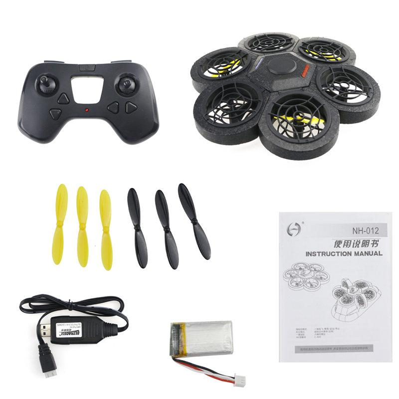 JJRC NH-012 2.4G 4CH 3D 6-Axis WIFI FPV Support Land Sea Air 3-Mode Free Combined Altitude Hold DIY Look RC Drone Quadcopter RTF gteng t908w diy wifi fpv 0 3mp pixels altitude hold rc quadcopter rtf 2 4ghz