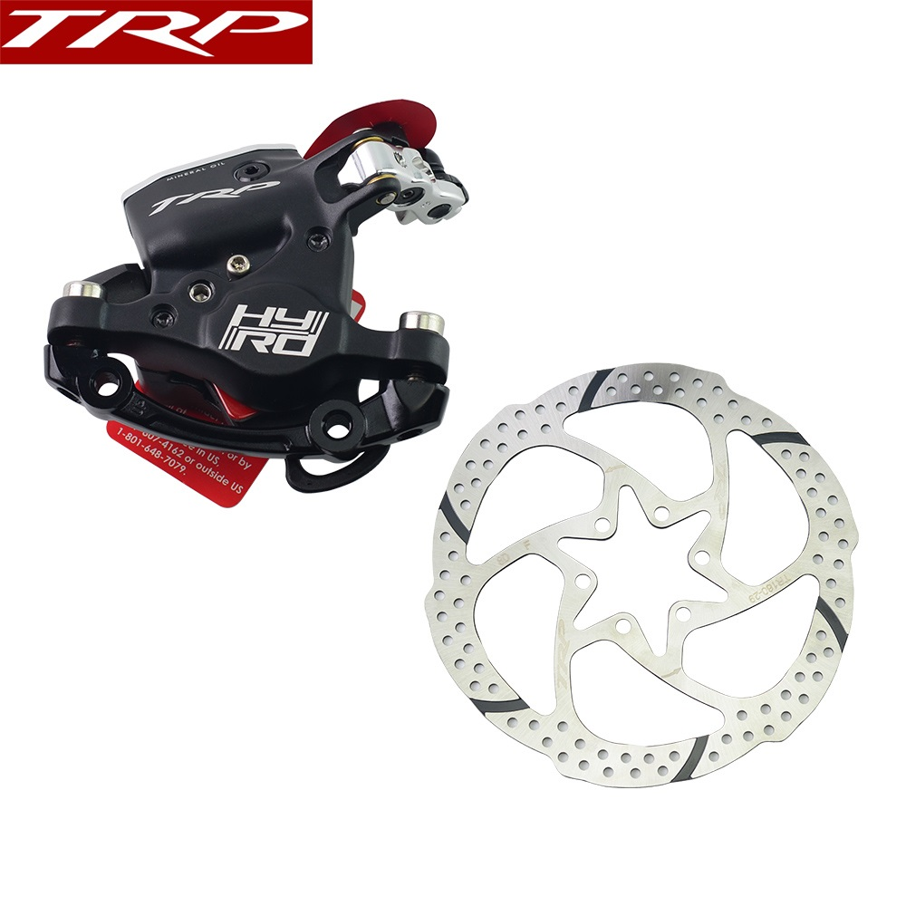 TRP HY/RD bike brakes Post Mount Cable Actuated Hydraulic Disc Brake Caliper 160mm w/ or w/o Rotor Front / Rear / Set ROAD BrakeTRP HY/RD bike brakes Post Mount Cable Actuated Hydraulic Disc Brake Caliper 160mm w/ or w/o Rotor Front / Rear / Set ROAD Brake
