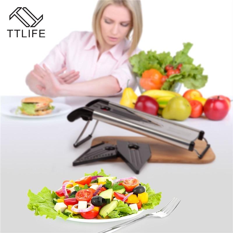 TTLIFE Zufällige Farbe Multifunktionaler V-Slicer Mandoline Slicer - Küche, Essen und Bar - Foto 4
