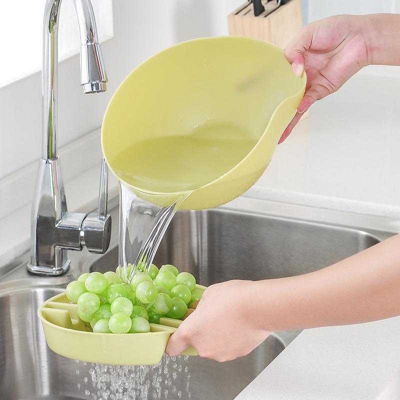 Image 5 - 利便性二重層スナックナッツ収納ボックスごみホルダープレート皿オーガナイザープラスチックドライフルーツ容器 -    グループ上の ホーム&ガーデン からの 収納ボックス & ビン の中
