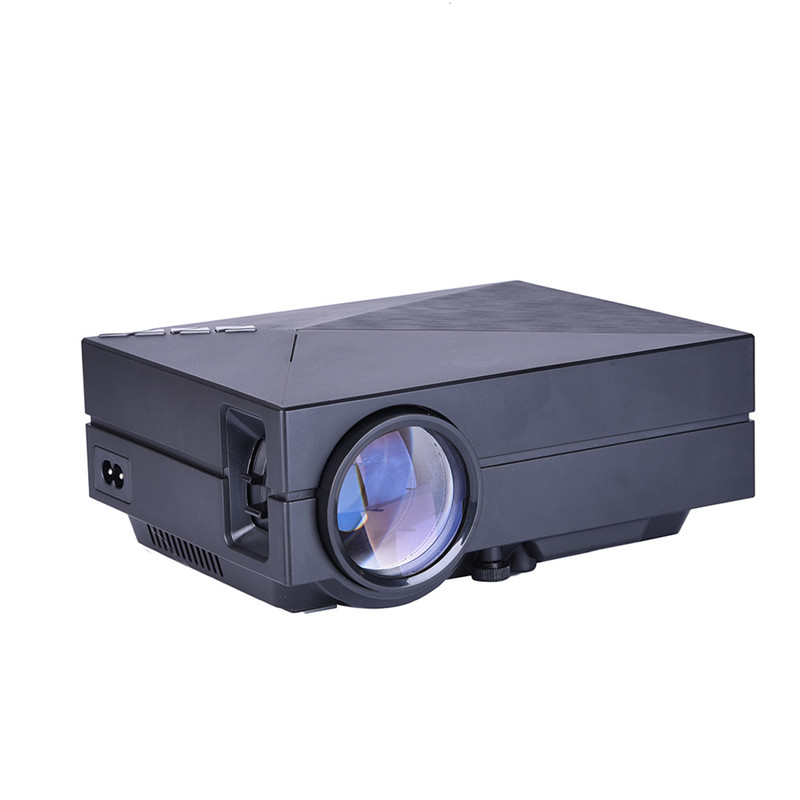 GM60 LED Mini Portable Projector 1000Lm 800*480 Pixels 1080P HD Mini Projector Multimedia Player For Home Theater Cinema Outdoor