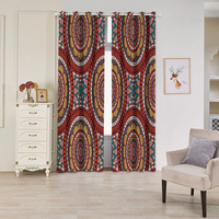 KISS QUEEN 3D blackout bedroom kitchen curtains home decoration window treatment digital printing livingroom string curtain