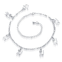 European and American fashion anklets