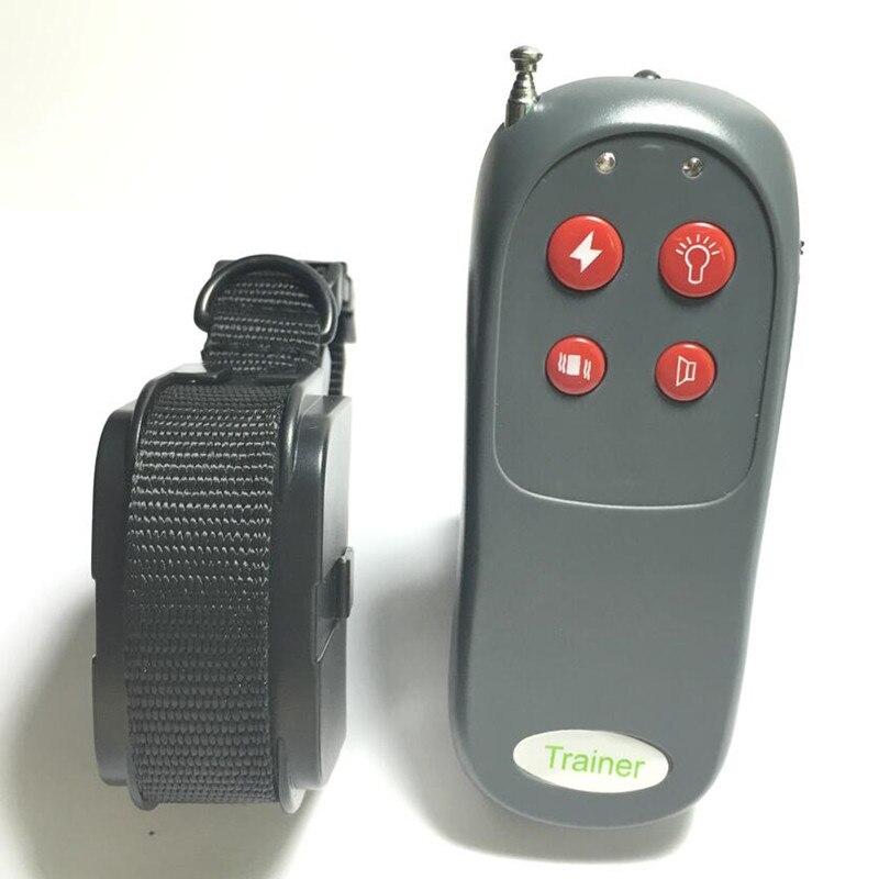 Nouveau Portable pas de mal électrique 4 en 1 télécommande petit moyen chien de formation collier choc Anti Bark