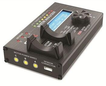 SKYRC Brushless Motor SK-500020 com Display LCD de Tela LCD Analyzer Testador de Motor para o Carro Do RC Do Motor