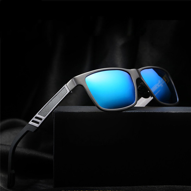 0477f5dd8f Men Vintage Aluminum HD Polarized Sunglasses For Men Classic Brand Sun  glasses Coating Lens Driving Glasses Shades For Men Women