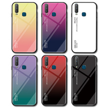 3d diy soft silicone case for vivo nex a case coque for vivo nex a cover flamingo painted case back cover for vivo nex a fundas Gradient Pattern Glossy Tempered Glass Case For VIVO Y17 Y91 V7plus Case Cover Funda For VIVO Y3 V15pro IOQQ X27 NEX Phone Case