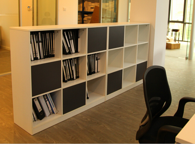 Ikea mobiliario oficina simple kallax combinacin for Scaffali da ufficio