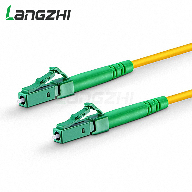 10 Pcs Lc Apc To Lc Apc Simplex 2.0mm 3.0mm Pvc Single Mode Fiber Patch Cable Lc Multimode Sc Upc Patch Cable