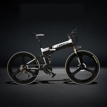 XT750 Sport 27 Speed Folding Electric Bike 26 48V 10A 240W Oil Disc Brake 5 Grade