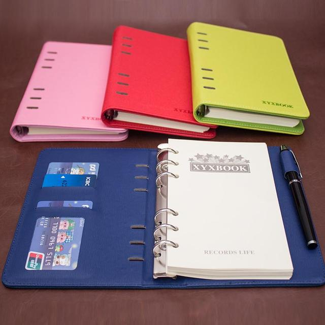 Commercial notepad portable small binder paper notebook stationery