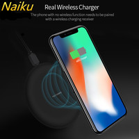 10W Wireless Charger For IPhone 8 X 8 Plus Qi Fast Wireless Charging Pad Wireless Charger