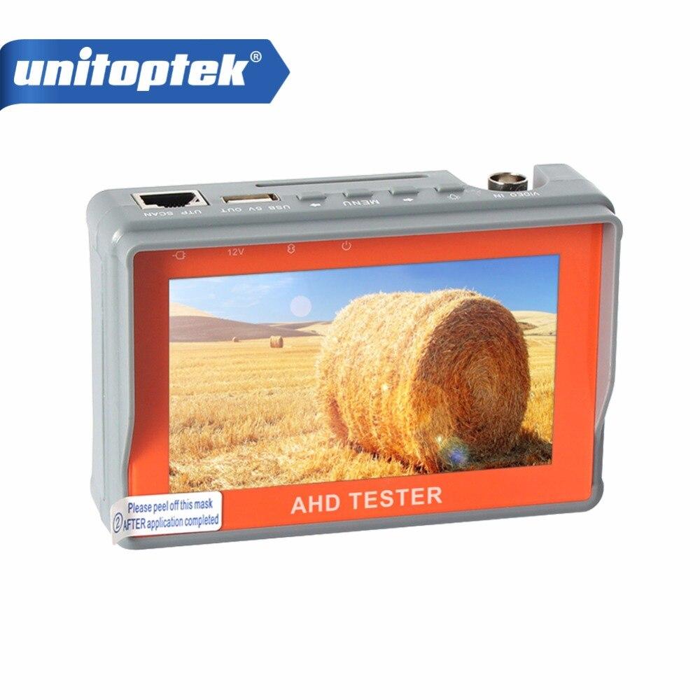 4.3 Pouce HD AHD Caméra Testeur CCTV Testeur Moniteur AHD 1080 P 720 P AHD Caméra Analogique Test Utp Test 5 V/2A, 12 V/1A Sortie