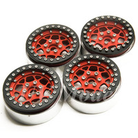 RC 1 10 Crawler Alloy Wheels Rim 2 2 Inch Beadlock Wheel Rims Hub For 1