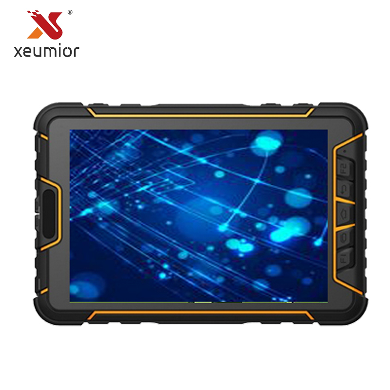 Industrial Android Rugged Tablet PC with Barcode Scanner LF NFC RFID UHF Reader 4G WIFI  ...