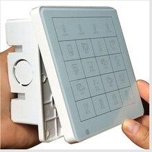 Сменный стеклянный сенсорный экран для умных настенных выключателей HOS-48/60