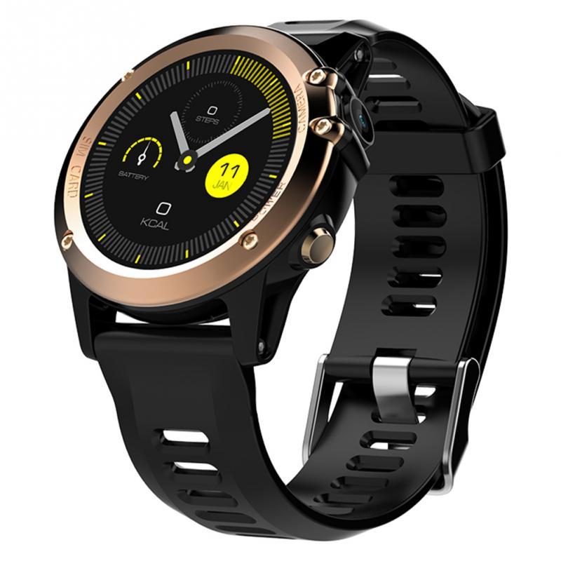 H1 Men Women Watch Stylish Universal Adjustable Wrist Waterproof GPS WIFI 5 Million HD Camera Durable Simple Smart