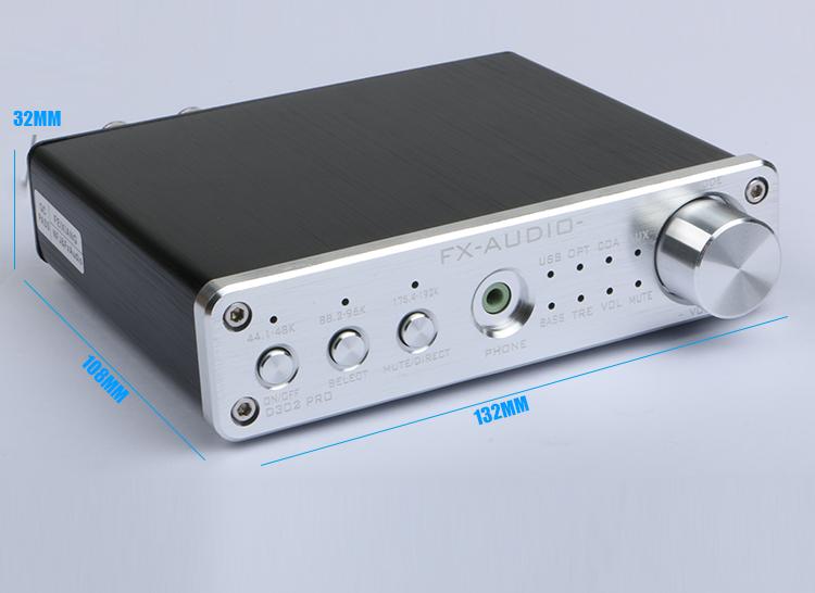 KHz J&FXAUDIO óptico/auxiliar Audio 2