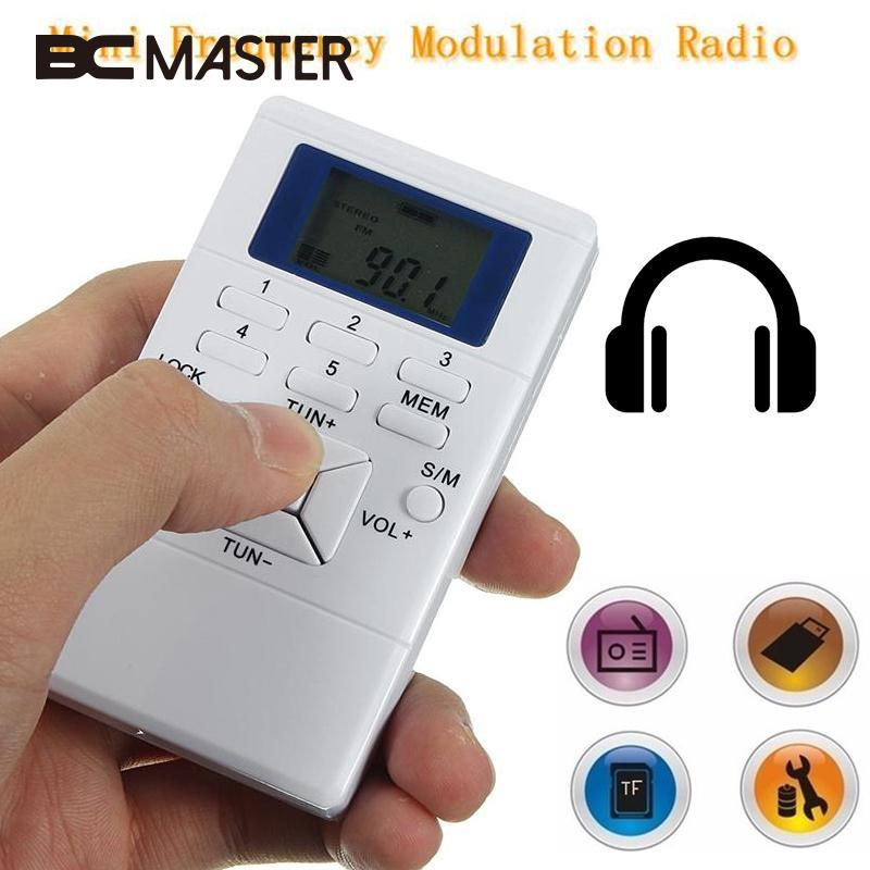 BCMaster Դյուրակիր մինի ռադիո Բարակ - Դյուրակիր աուդիո և վիդեո - Լուսանկար 1