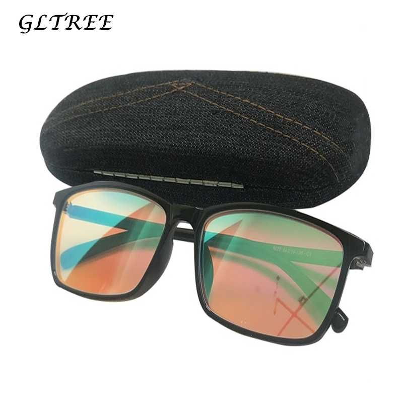 7bfee379c06 GLTREE Color Blind Glasses Corrective Women Men Red Green Color Blindness  Glasses With Box Driver s Colorblind