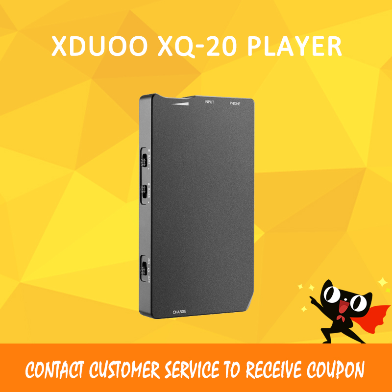 Xduoo XQ-20 headphone amplifier dac volume control amplifier audio dac portable amplifier headphone amp original xduoo xd 05 portable audio dac headphone amplifier hd iled display professional pc usb decoding amplifier