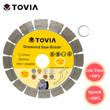 TOVIA Continuou Rim Diamond Marble Saw blade Specialized Stone Cutting Sheet Multitool Angle Grinder Saw Disc Power Tool
